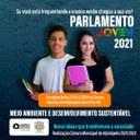 Câmara abre inscrições aos alunos do ensino médio para o Parlamento Jovem